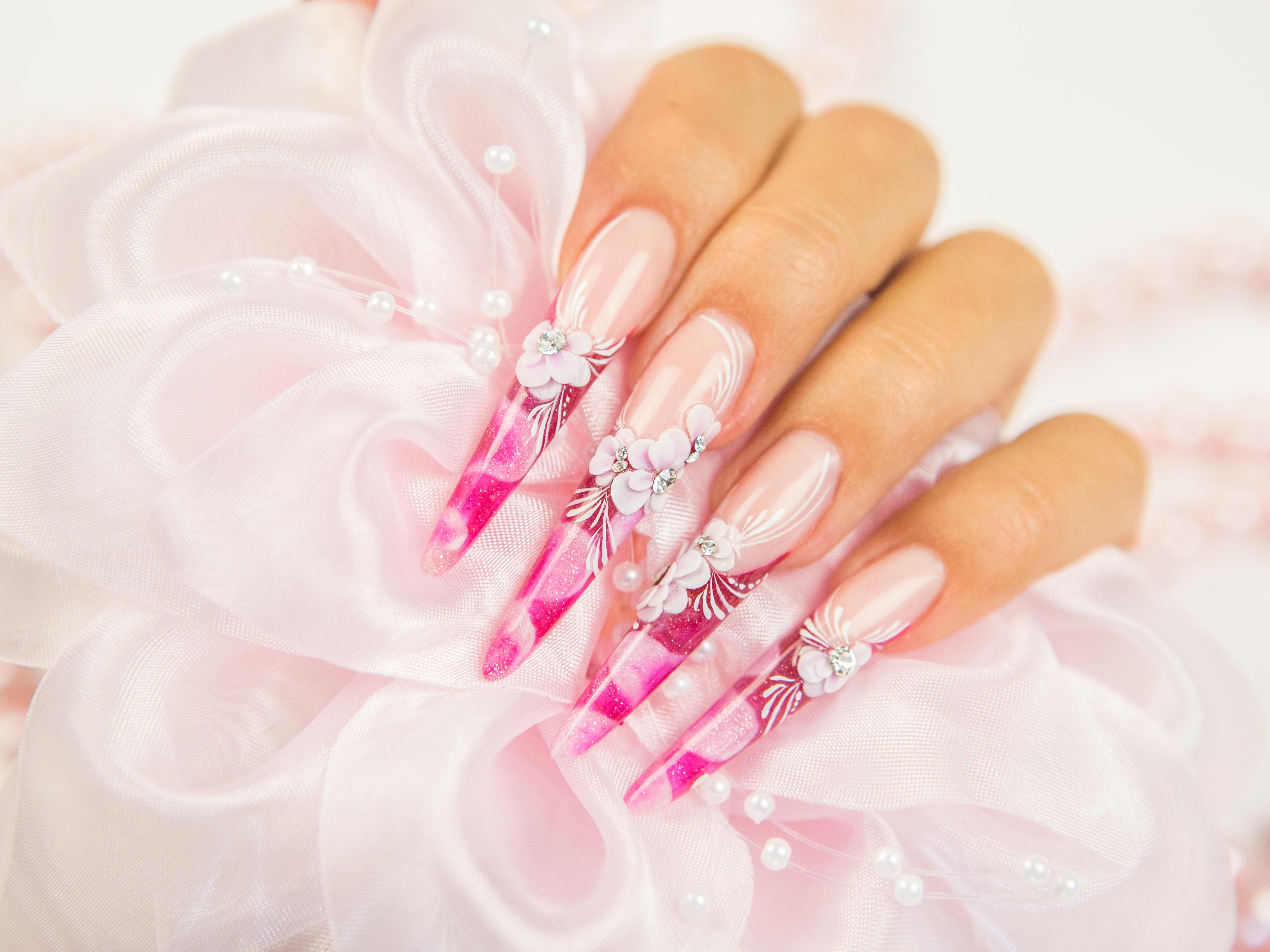 свадебный дизайн ногтей Алла Кравченко