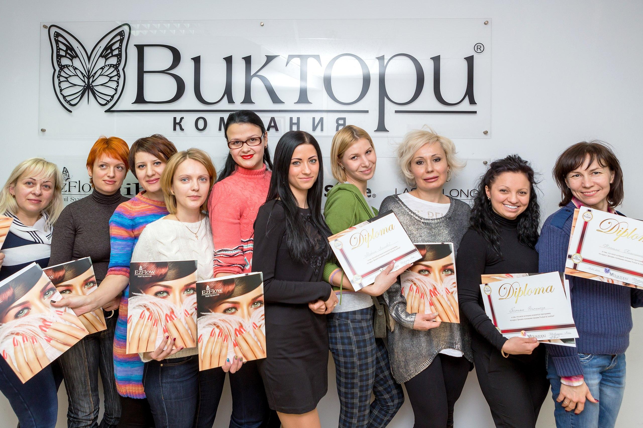 Обучение маникюру, дизайну ногтей Киев