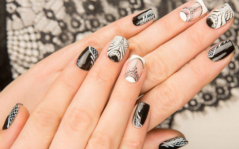 дизайн ногтей гель лаком фото