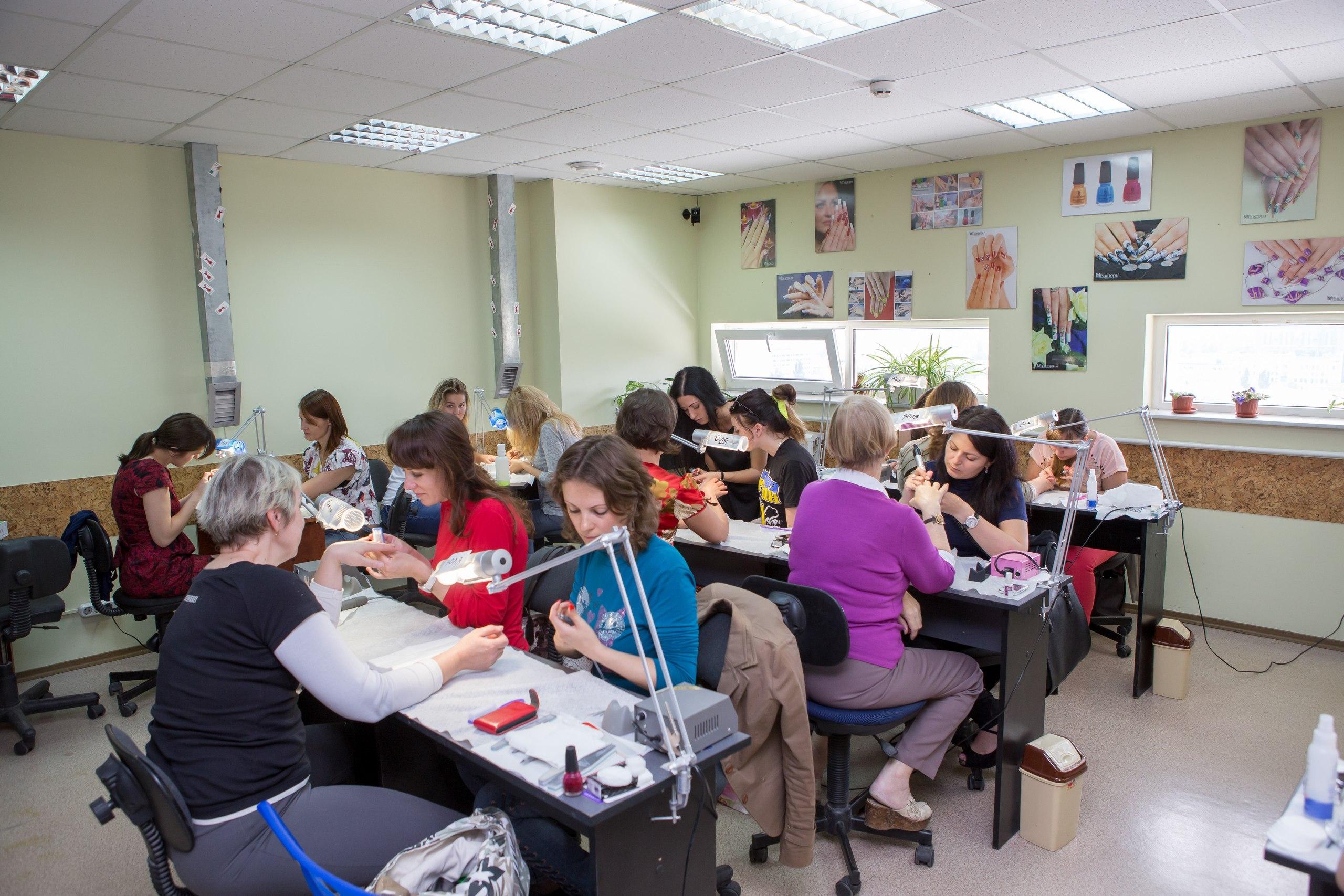 курсы наращивания ногтей Алла Кравченко