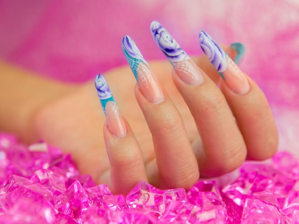 трендовые дизайны моделирования ногтей